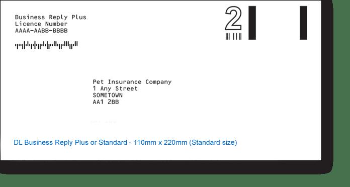 DL Standard Size Envelopes